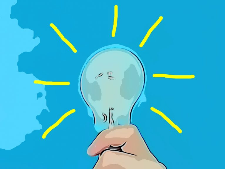 Ideen zum Leuchten bringen